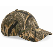 Structured Mid-Profile Mossy Oak Camouflage Cap